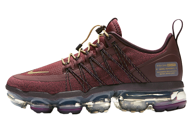 classic style buy sale superior quality Nike Air VaporMax Run Utility Burgundy Womens | AQ8811-600