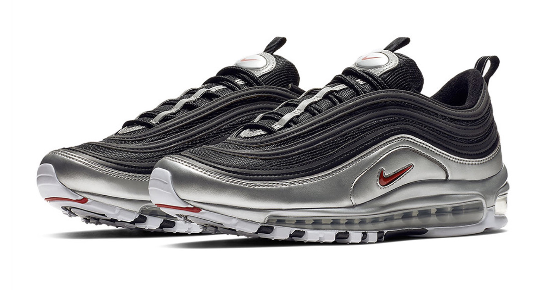 Nike's Air Max 97 Is The Latest Silhouette To Turn Metallic