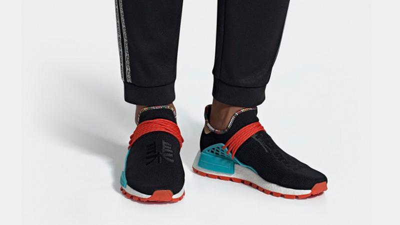 Pharrell x adidas Hu NMD Inspiration Pack Black EE7582 04