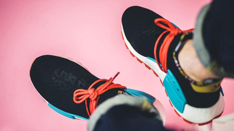 Pharrell x adidas Hu NMD Inspiration Pack Black EE7582 08