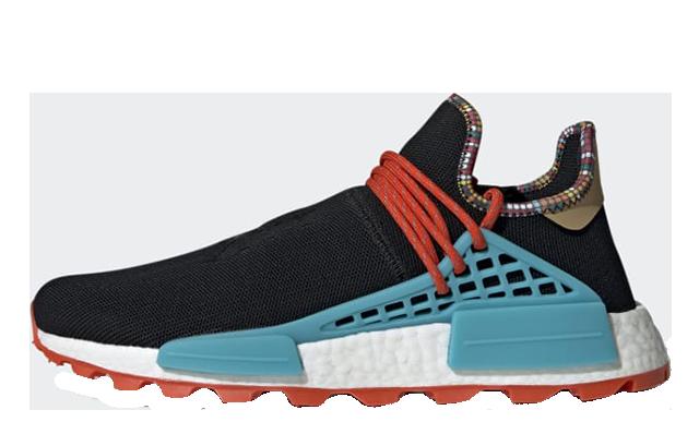 Pharrell x adidas Hu NMD Inspiration Pack Black EE7582
