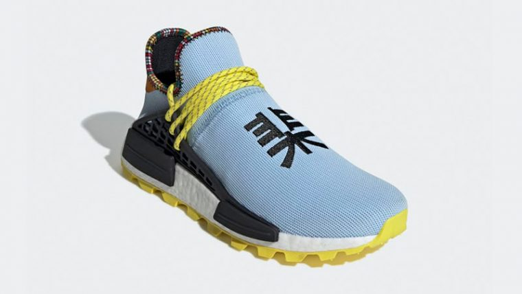 Pharrell x adidas Hu NMD Inspiration Pack Blue Black EE7581 03