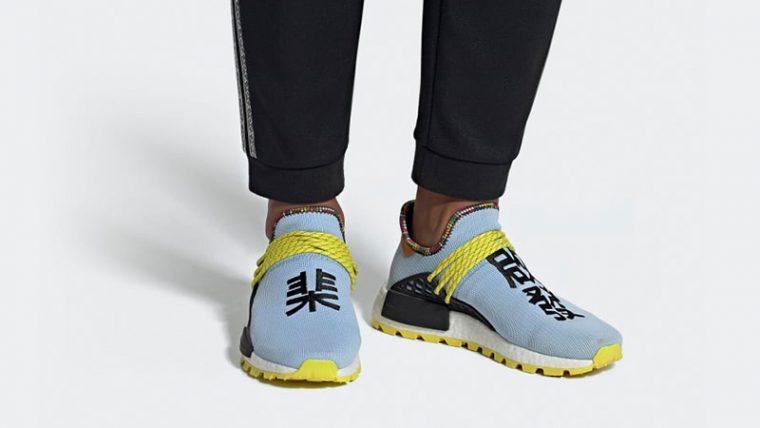 Pharrell x adidas Hu NMD Inspiration Pack Blue Black EE7581 04 thumbnail image