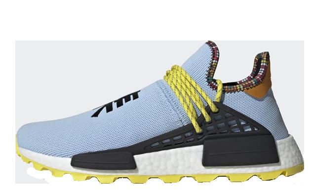 Pharrell x adidas Hu NMD Inspiration Pack Blue Black EE7581
