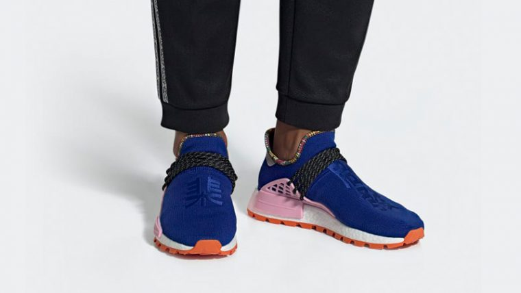 Pharrell x adidas Hu NMD Inspiration Pack Blue Pink EE7579 04 thumbnail image