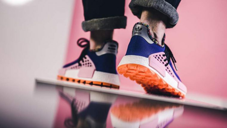 Pharrell x adidas Hu NMD Inspiration Pack Blue Pink EE7579 06 thumbnail image