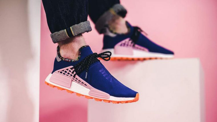 Pharrell x adidas Hu NMD Inspiration Pack Blue Pink EE7579 08 thumbnail image