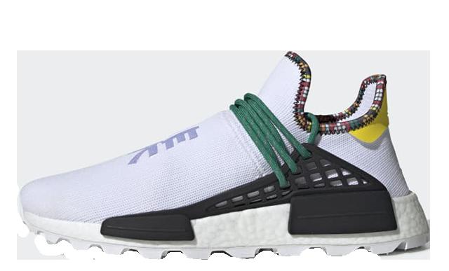 Pharrell x adidas Hu NMD Inspiration Pack White