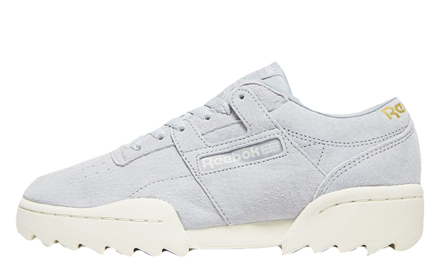 ff21597bedc The Reebok Workout Ripple Grey White Womens is available to buy now from  select stockists