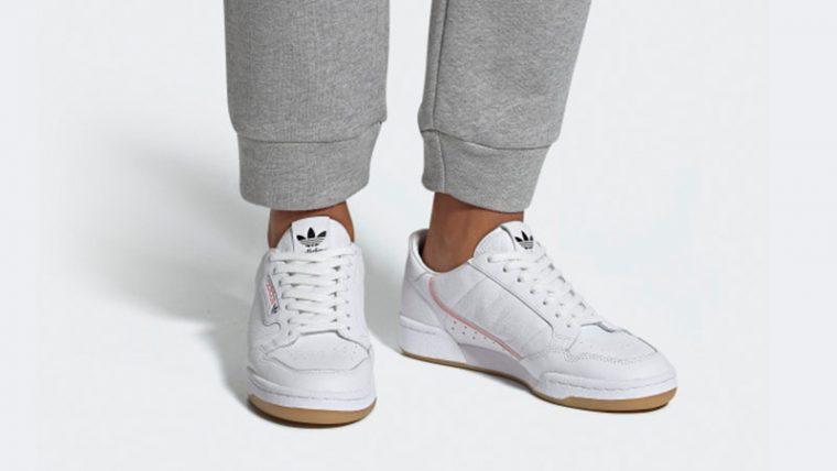 da842fe74b0 adidas Originals x TFL Continental 80 White Gum