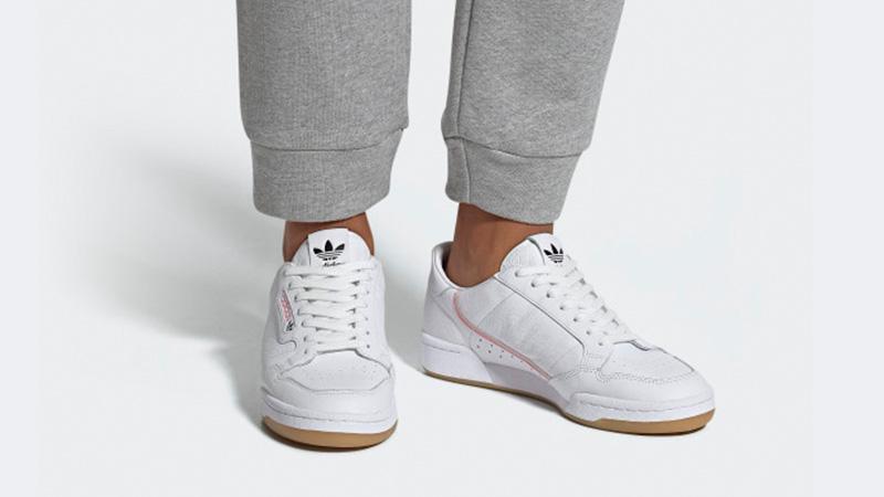 sports shoes a69ff 1b20a adidas Originals x TFL Continental 80 White Gum  EE9547