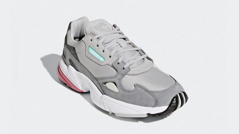 low cost 35969 8f090 adidas Falcon Grey Maroon Womens D96698 03