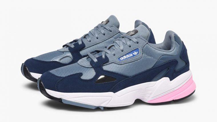 adidas Falcon Grey Pink Womens D96699 03 thumbnail image