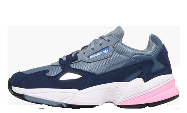 adidas Falcon Grey Pink Womens D96699