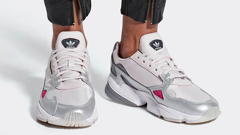 adidas Falcon Silver Pink D96757 05