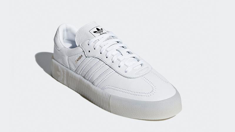 buy online 28053 fb0b0 adidas Sambarose White D96702 03