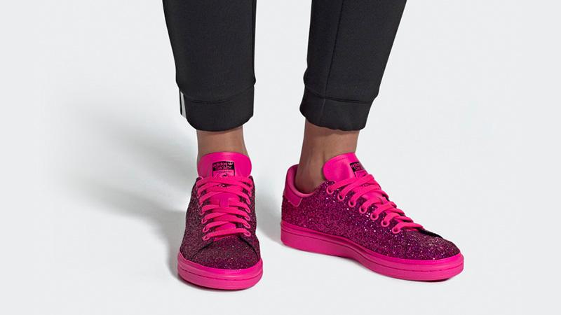 adidas stan smith shock pink