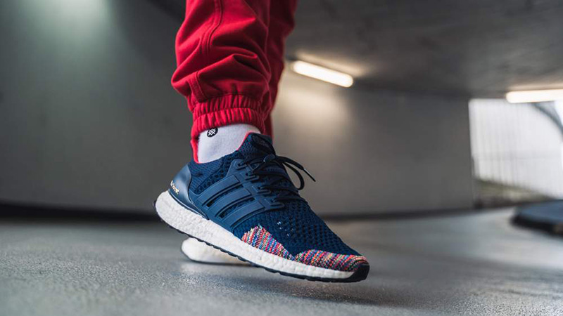 huge selection of def69 7d75e adidas Ultra Boost 1.0 Navy Multi | BB7801