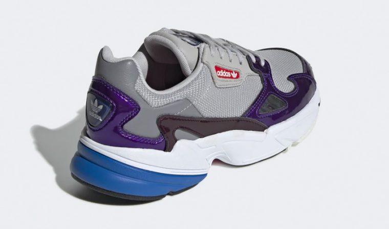 adidas falcon grey purple thumbnail image
