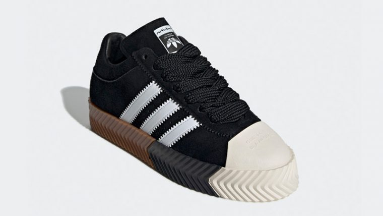 0c3efe0f180d adidas x Alexander Wang Skate Super Black White