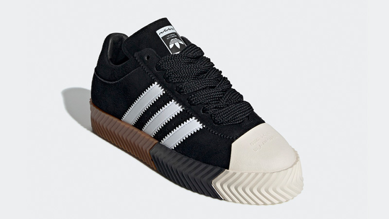 low priced b3a20 fe0aa adidas x Alexander Wang Skate Super Black White   G28385