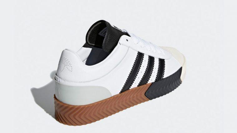 40226c63ed11 adidas x Alexander Wang Skate Super White Black