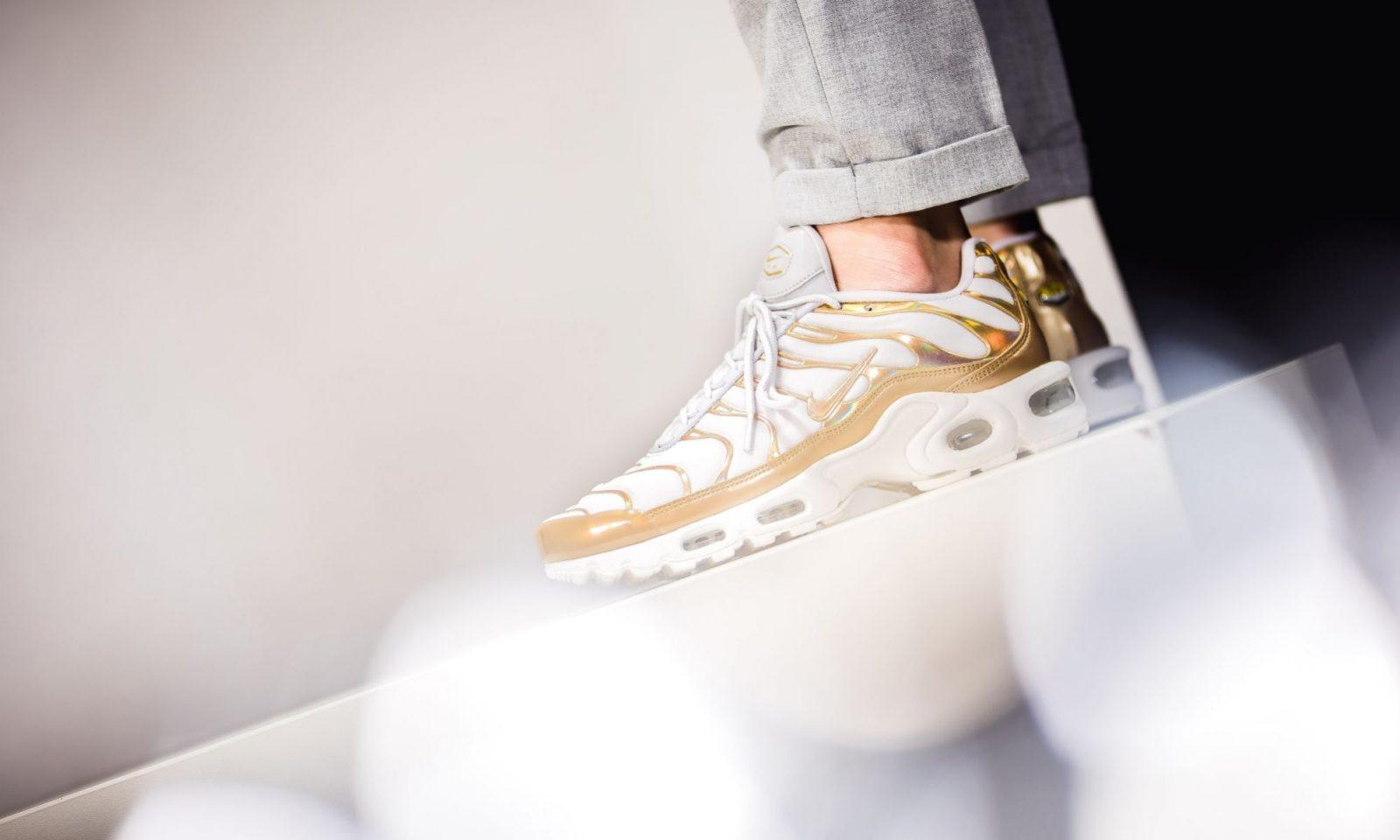 "Nike TN Air Max Plus WhiteGold ""Metallic Pack"" | 605112 054"