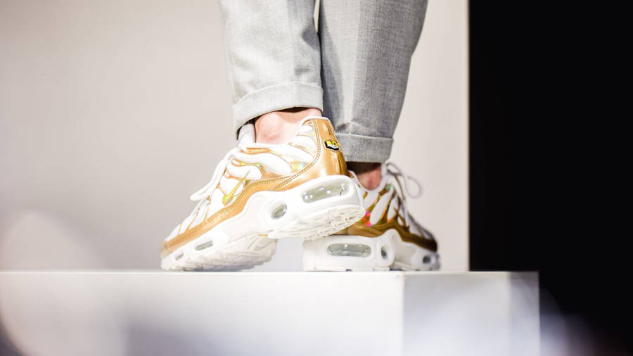 Nike TN Air Max Plus White/Gold