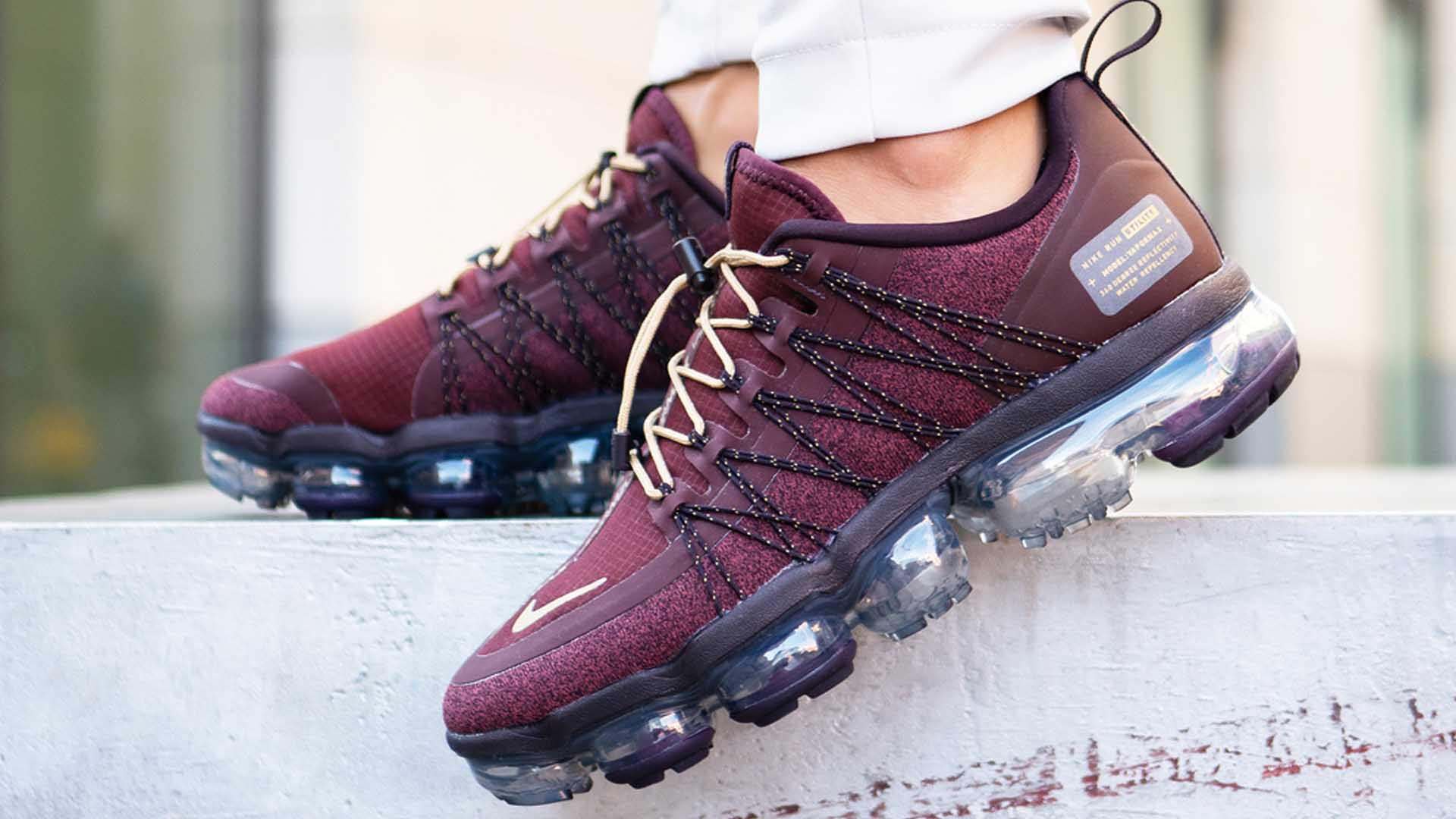 quality design e6590 9dedb Nike Air VaporMax Run Utility Burgundy Womens | Where To Buy