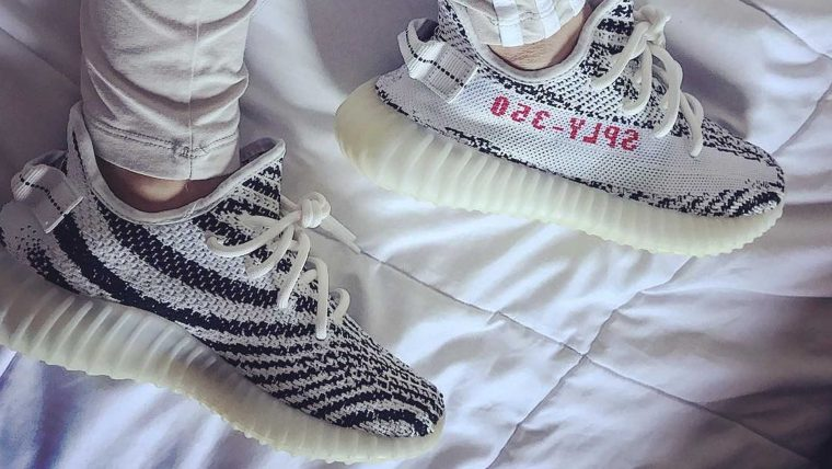 buy online c2e10 a6ff6 If you missed out on the first two global releases of the highly sought  after Yeezy Boost 350 V2 Zebra, now is your time to shine.