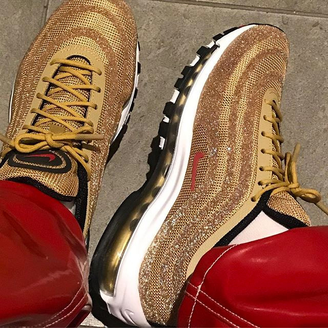 Metallic Gold Swarovski Air Max 97