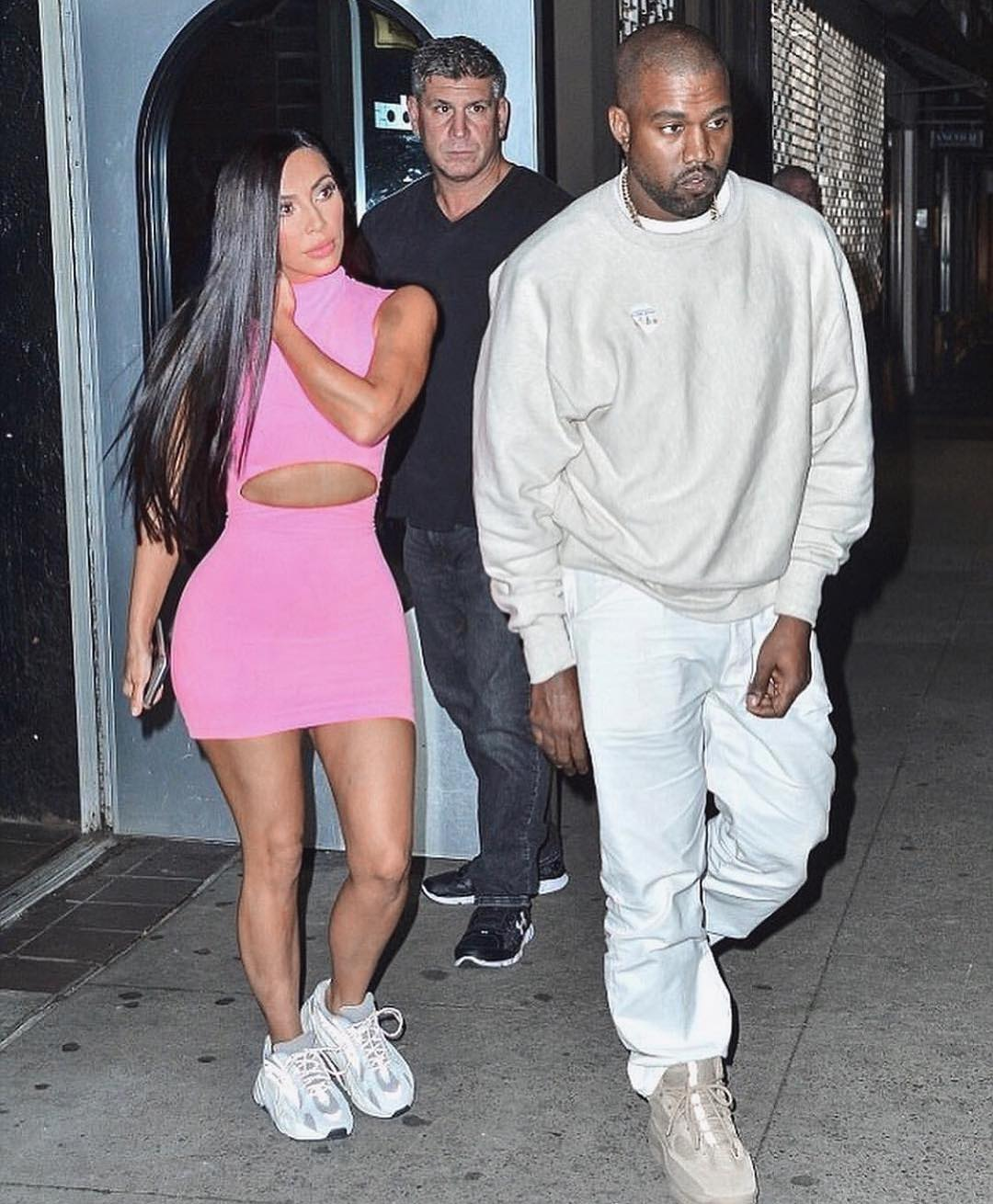7672bd3d44c 4 Times Kim Kardashian West Taught Us How To Style The Yeezy Boost ...