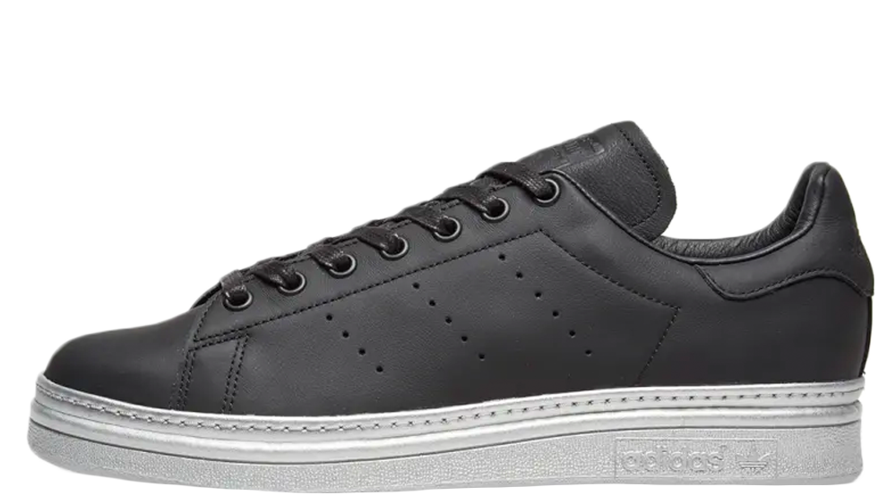 adidas Stan Smith Bold Black Metallic Silver