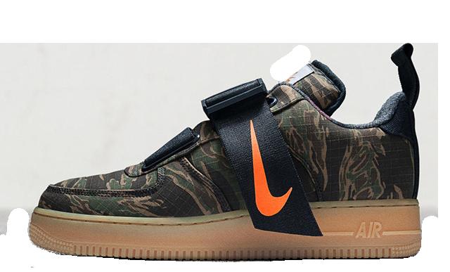 quality design 7f1bc 0fcb2 Carhartt x Nike Air Force 1 Low Utility Camo Green | AV4112-300