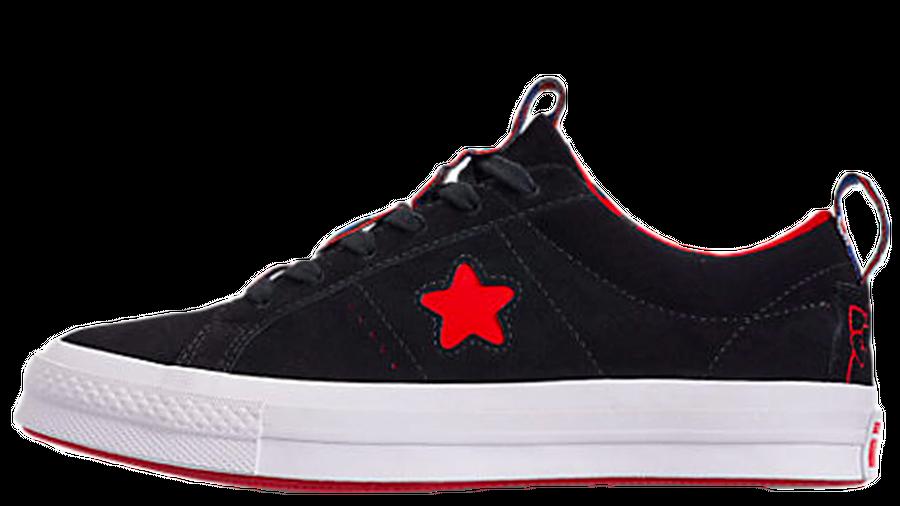 Converse x Hello Kitty One Star Ox Black