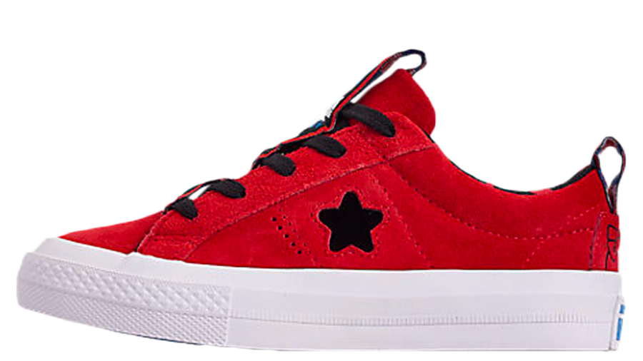 Converse x Hello Kitty One Star Ox Fiery Red