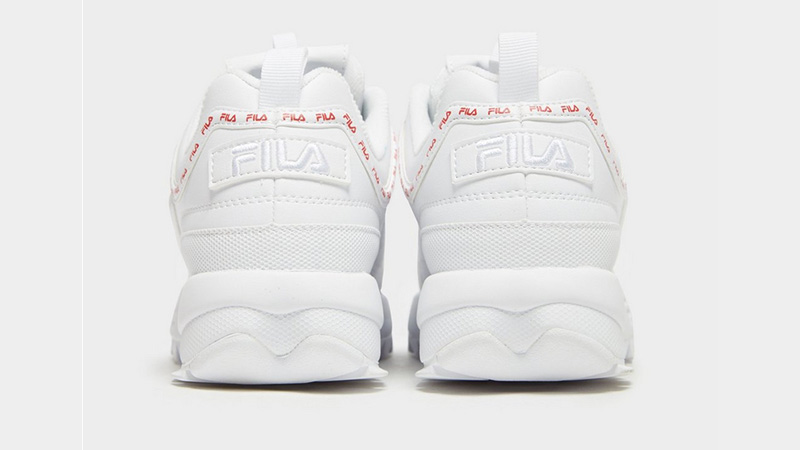 Fila Disruptor II Repeat White Womens 01
