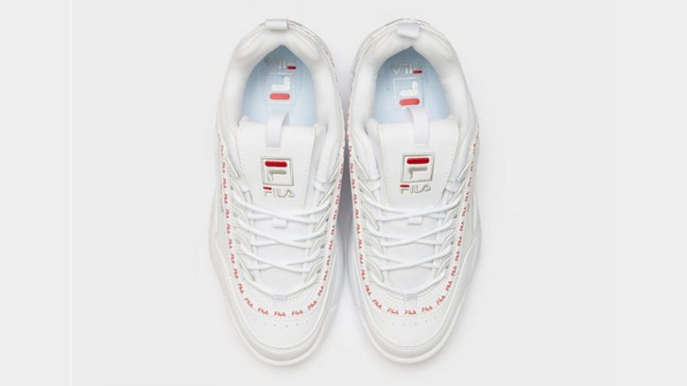 Fila Disruptor II Repeat White Womens 02 thumbnail image