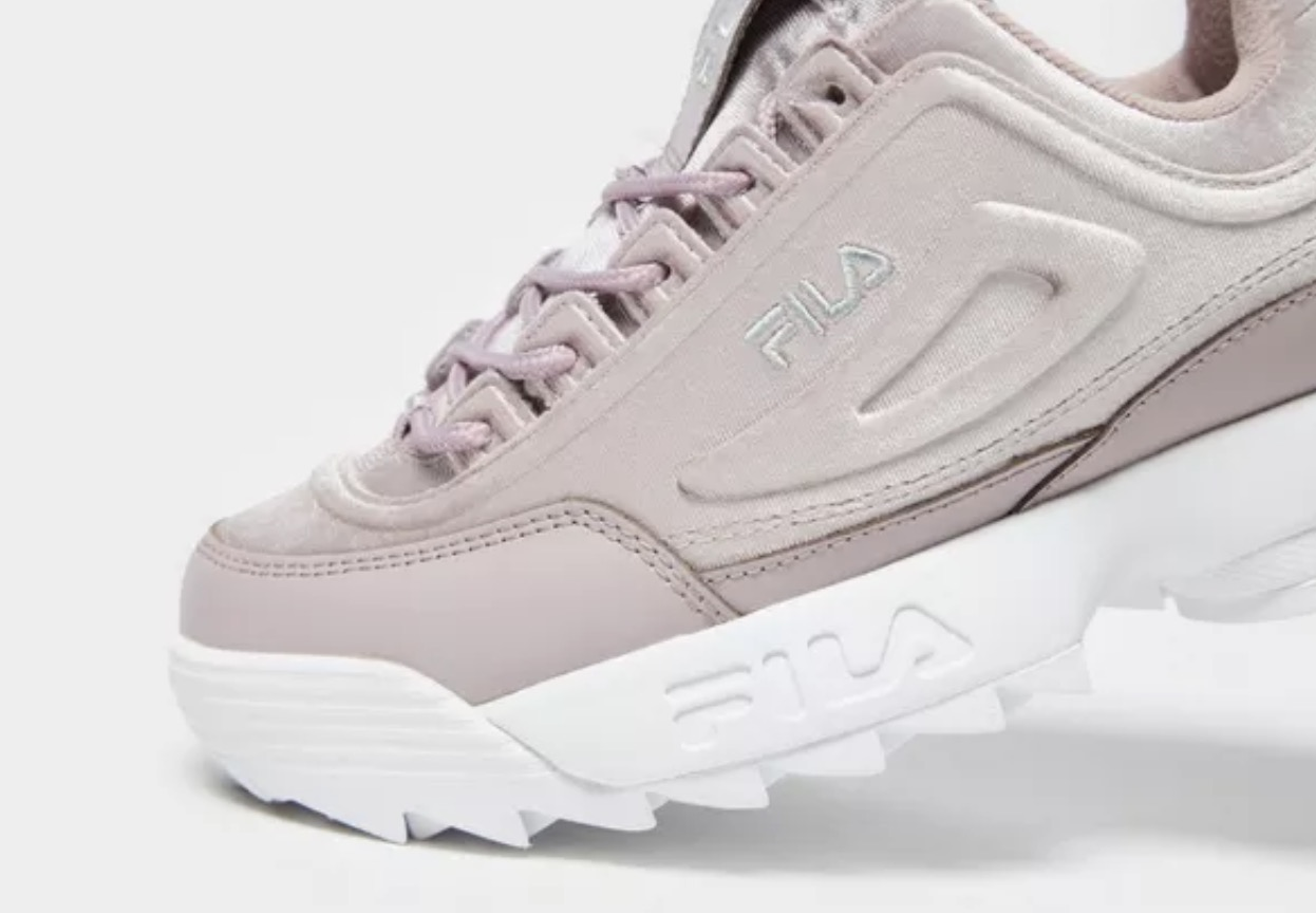 Fila Disruptor Velvet Pink