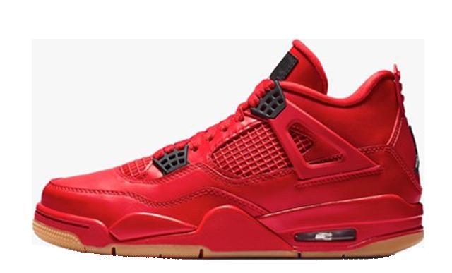 Jordan 4 Fire Red Gum Singles Day AV3914-600