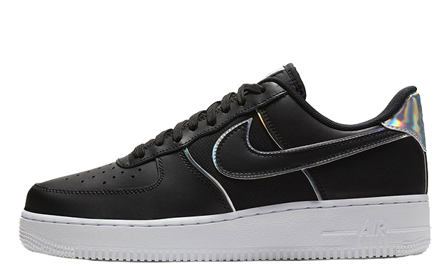 21f1015a8dce Nike Air Force 1 07 LV8 Iridescent Black Womens. Release TBC