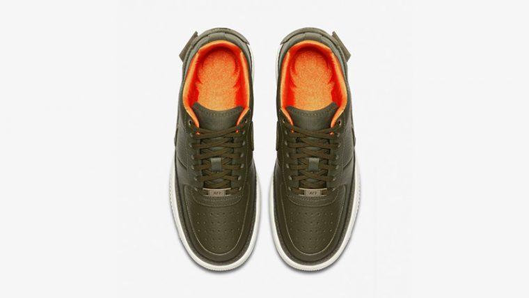 Nike Air Force 1 Jester XX Premium Olive Canvas AV3515-300 02 thumbnail image