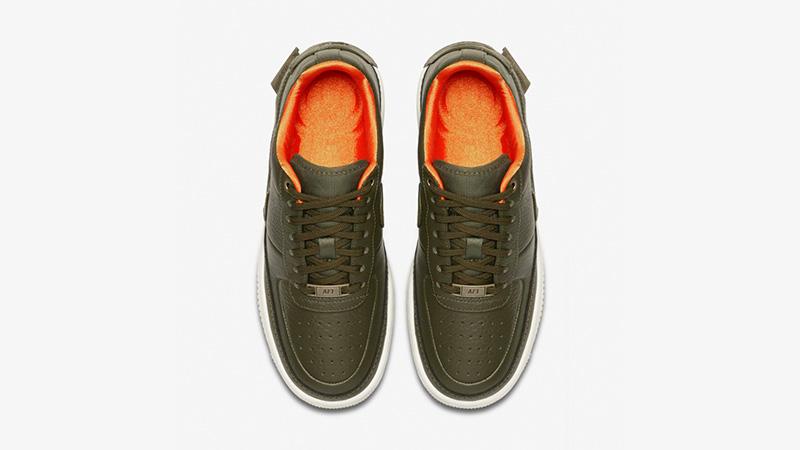 Nike Air Force 1 Jester XX Premium Olive Canvas AV3515-300 02