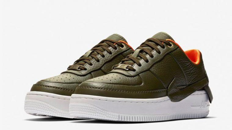 Nike Air Force 1 Jester XX Premium Olive Canvas AV3515-300 03 thumbnail image