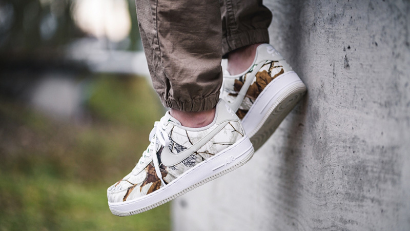 Nike Air Force 1 White Realtree Camp Pack AO2441-100 01