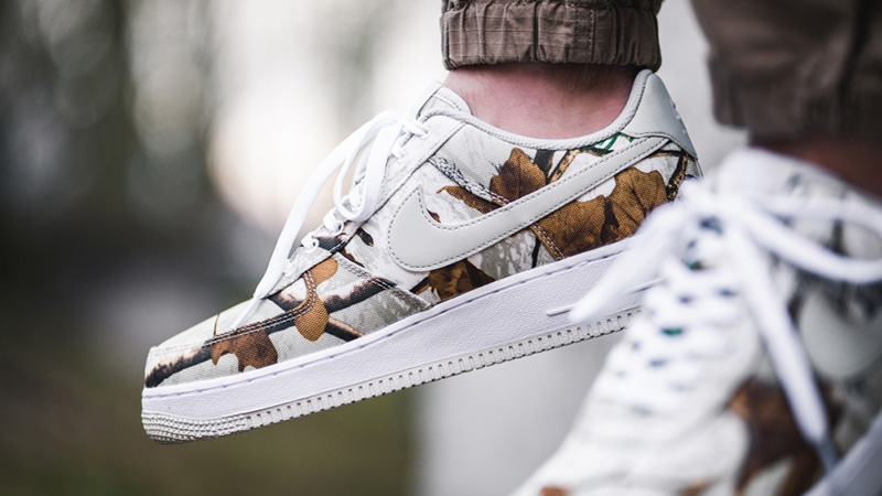 Nike Air Force 1 White Realtree Camp Pack AO2441-100 02