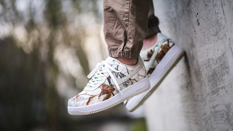 Nike Air Force 1 White Realtree Camp Pack AO2441-100 03