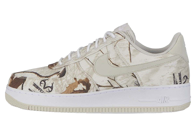 Nike Air Force 1 White Realtree Camp Pack AO2441-100
