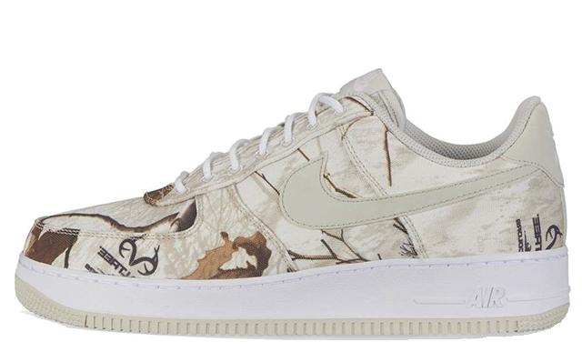 Nike Air Force 1 White Realtree Camo