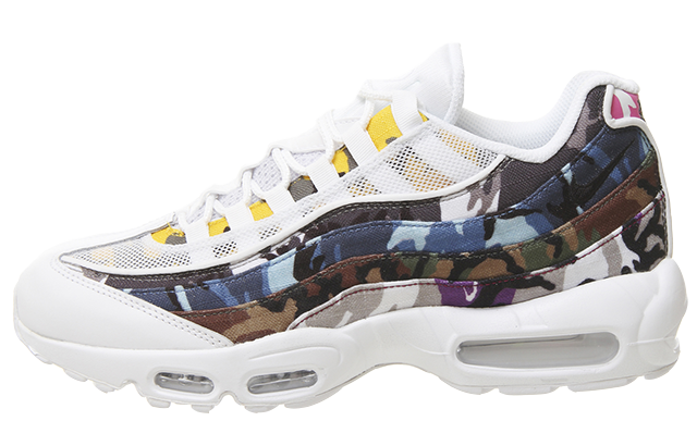 Nike Air Max 95 White Multi Camo